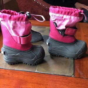 Little Girls Columbia Snow Boots